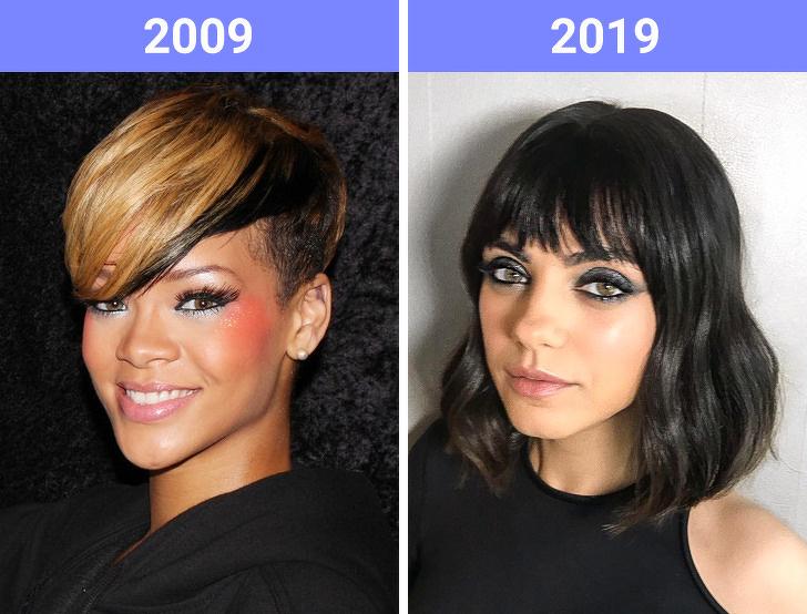 Asymmetric haircuts